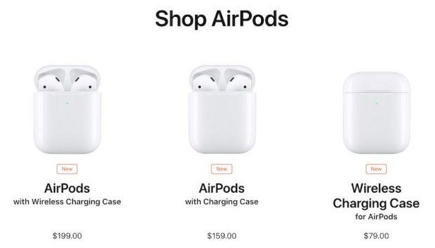 Сравнение новых AirPods и старых AirPods