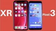 Сравнение iPhone Xr и Google Pixel 3