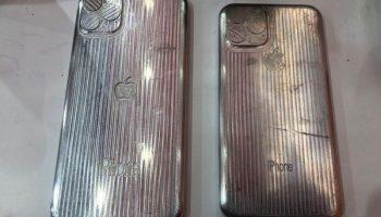 Предполагаемые формы iPhone 11 и 11 Max показывают тройную компоновку камеры