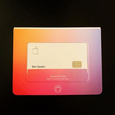 Сотрудники Apple начинают получать кредитные карты Apple