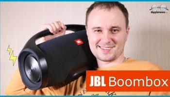 Обзор колонки JBL boombox [видео]