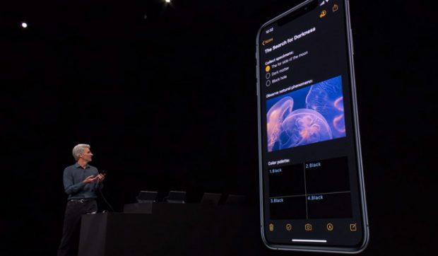 Apple выпустила iOS 13 с Dark Mode