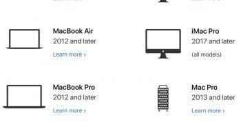 Вот список всех Mac, совместимые с macOS Catalina