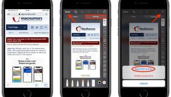 Как сохранить или поделиться веб-страницей Safari в формате PDF в iOS 13