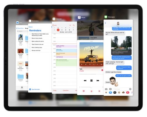 ipadOS expose 503x400 - Apple представляет iPadOS, разработанный специально для более крупного дисплея iPad