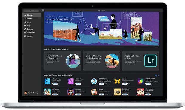 Adobe Lightroom возвращается в Mac App Store