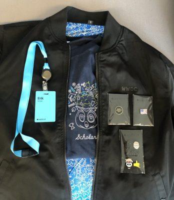 WWDC 2019 бонусы участникам включают: куртку, магнитные значки, специальную футболку для стипендиатов и многое другое