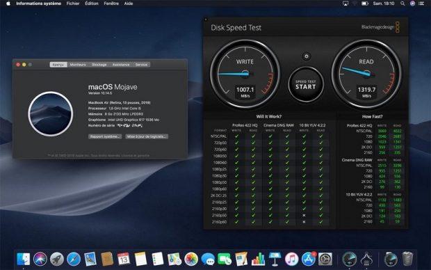 Apple MacBook Air 2019 256 Гбайт оснащен более медленным SSD, чем модель 2018 года
