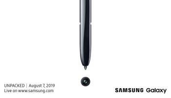 Samsung проведет мероприятие 7 августа, чтобы представить Galaxy Note 10