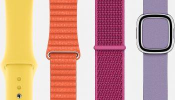Apple Watch ремешки в основном распроданы в преддверии осеннего обновления