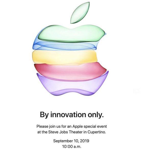 Apple приглашает СМИ на мероприятие 10 сентября в Apple Park
