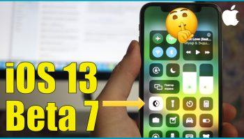 Что нового в iOS 13 beta 7 [видео]