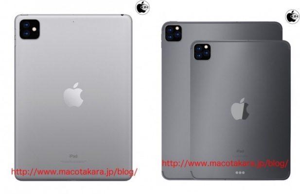 Задние камеры с тройным объективом, по слухам, для следующего ряда iPad Pro