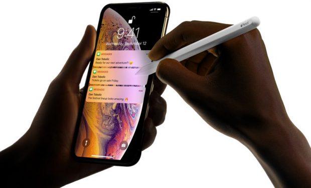 Аналитики прогнозируют поддержку Apple Pencil для iPhone 2019 года