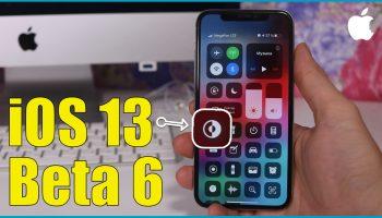 iOS 13 beta 6 обзор новых изменений [видео]