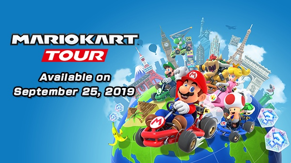 Игра Nintendo 'Mario Kart Tour' для iOS, запускается 25 сентября