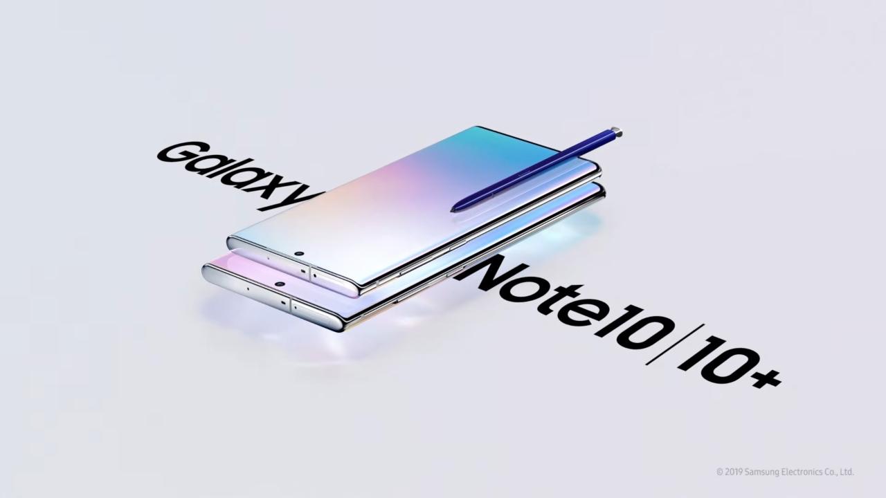 Samsung представляет новый флагман Galaxy Note 10 и Galaxy Note 10+