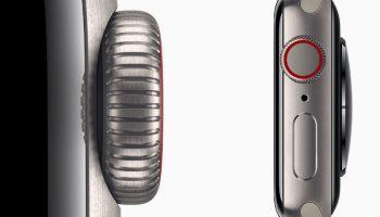 Титановые модели Apple Watch Series 5 весят на 13% меньше, чем модели из нержавеющей стали