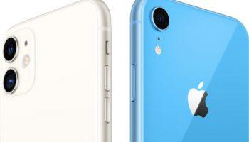 Сравнение iPhone 11 против iPhone XR