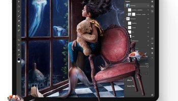 Adobe выпустили Photoshop для iPad
