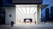 Apple временно закрывает два дополнительных магазина в Китае из-за коронавируса