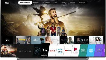 Приложение Apple TV теперь доступно на некоторых телевизорах LG 2019 года