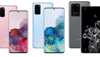 Samsung представляет смартфоны Galaxy S20 с 5G, новыми камерами
