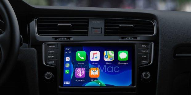 CarPlay может поддерживать обои в iOS 14