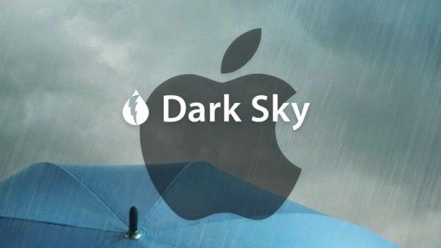 Apple приобретает приложение Weather Dark Sky