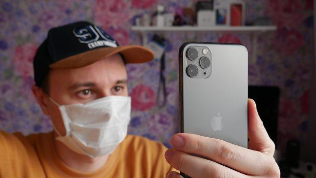 Как обучить Face ID узнавать вас в медицинской маске [видео]