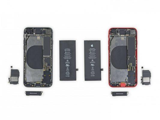 iFixit: детали, которые можно поменять местами между iPhone 8 и iPhone SE 2020