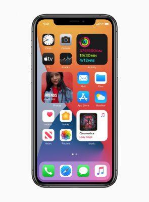 iOS 14, совместима с iPhone 6s и 6s Plus и более поздними версиями