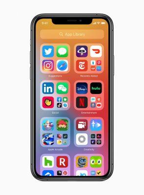 iOS 14 анонсирована с совершенно новым дизайном домашнего экрана с виджетами, библиотекой приложений и многим другим