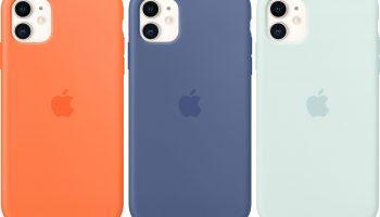 Apple выпускает силиконовые чехлы для iPhone 11 и 11 Pro в новых цветах
