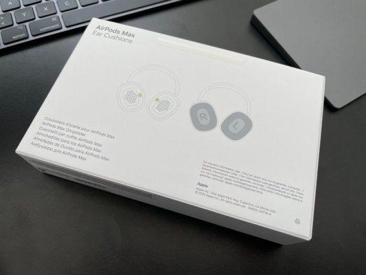 Сменные амбушюры AirPods Max теперь прибывают к первым покупателям