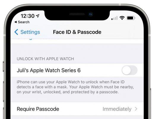 Apple выпускает третью watchOS 7.4 общественную бета-версию с функцией разблокировки iPhone
